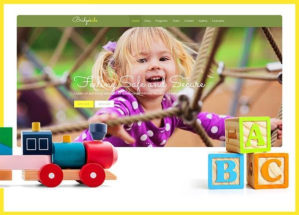 Kids Business Website