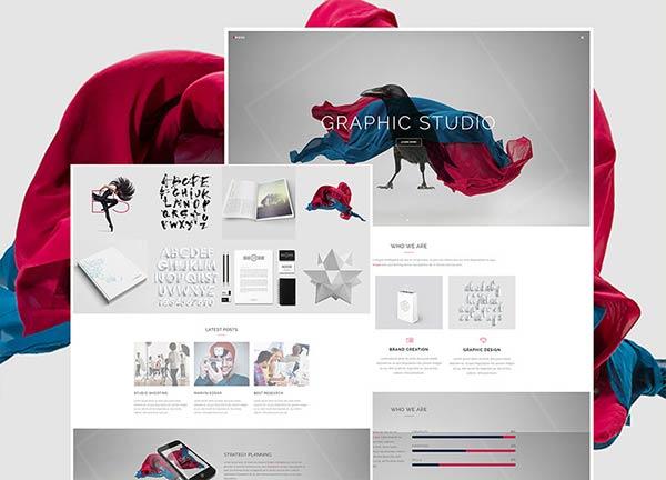 Graphic Studio Business Website