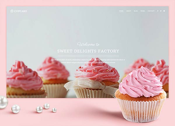 Cupcake Business Website