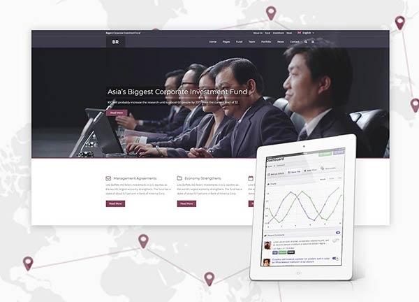 Corporate Business Website