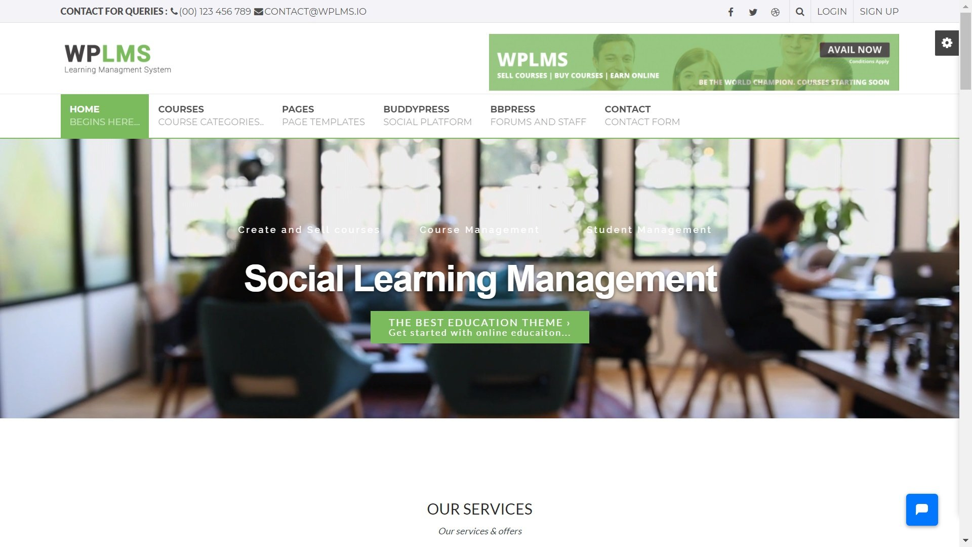 Social Learning Management