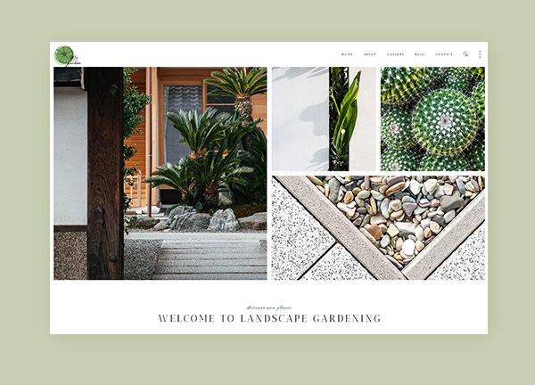 Landscape Architecture Business Website
