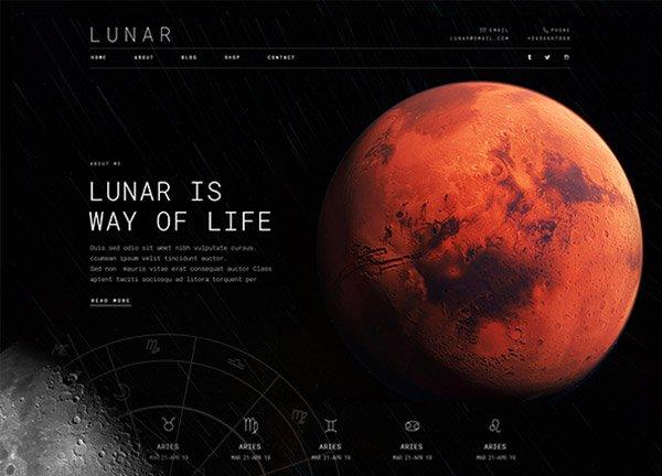 Astrology Business Website