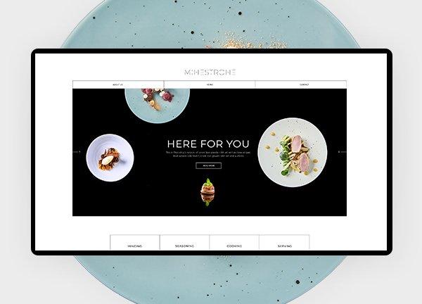 Fine Dining Business Website