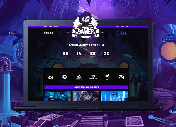 Esports Creative Website
