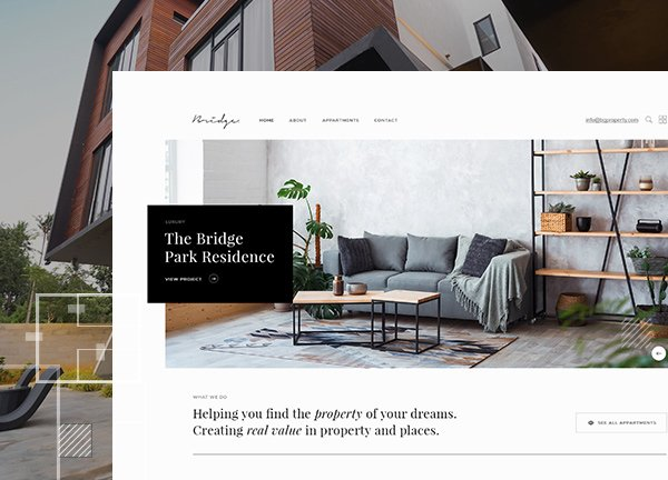 Property Showcase Business Website