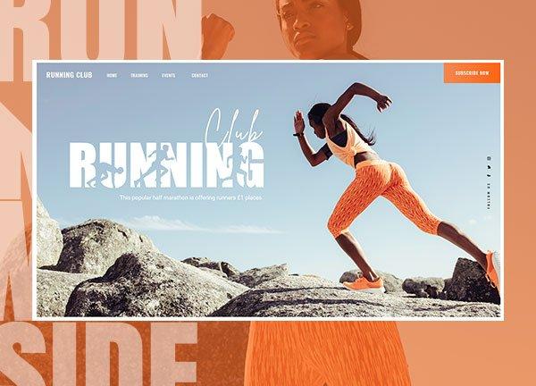 Running Crew Business Website