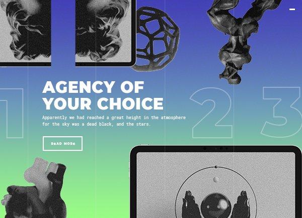 Agency Showcase Business Website