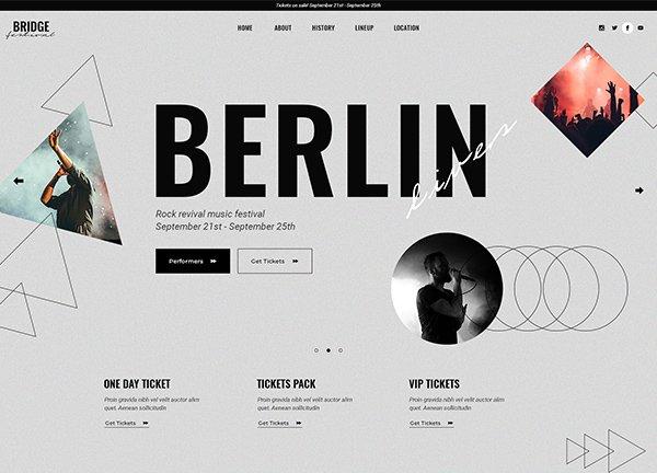 Festival Creative Website