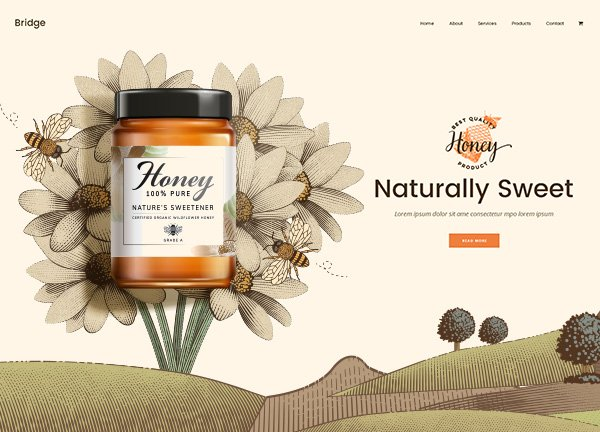 Honey Online Store