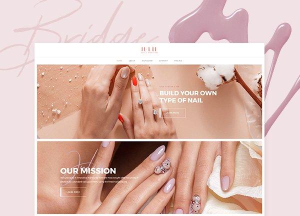 Manicure Business Website