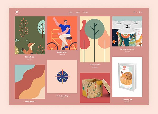 Illustration Portfolio Website