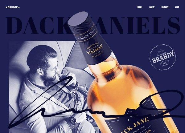 Liquor Showcase Business Website