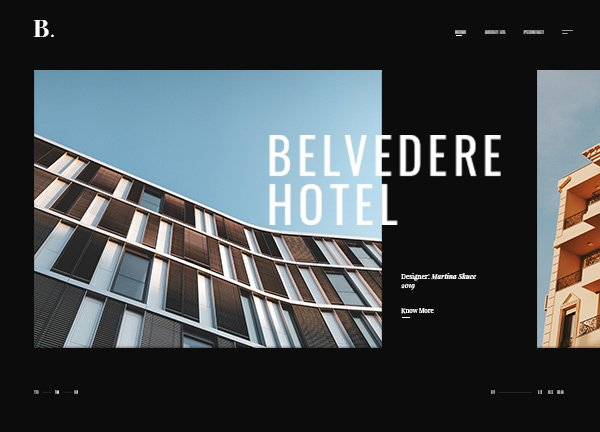 Architecture Showcase Business Website