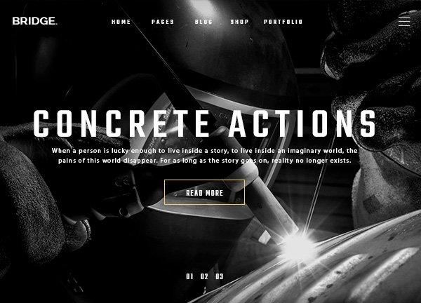 Construction Firm Business Website