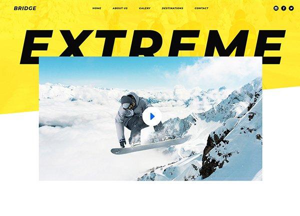 Skiing Business Website