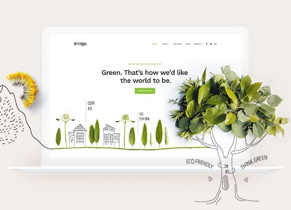Environmental NGO Business Website