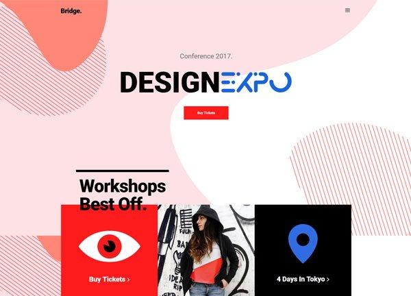 Designer Expo Creative Website