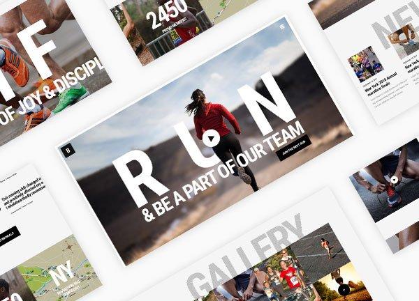 Running Business Website