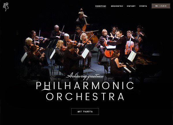 Orchestra Business Website