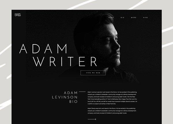 Writer Business Website