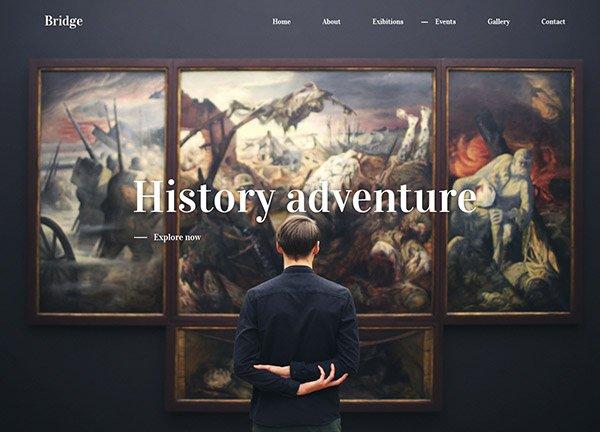 Museum Business Website