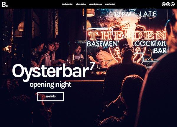 Bar Business Website