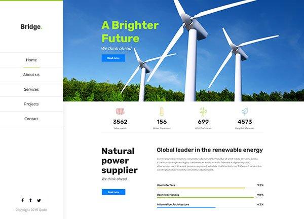 Renewable Energy Business Website