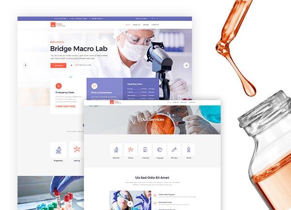 Laboratory Business Website