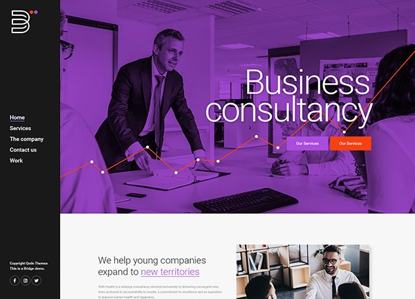 Business Consulting Business Website