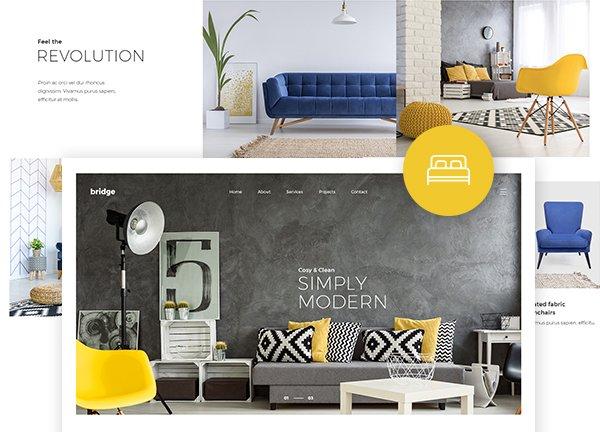 Interior Decor Business Website