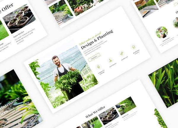 Gardening Business Website
