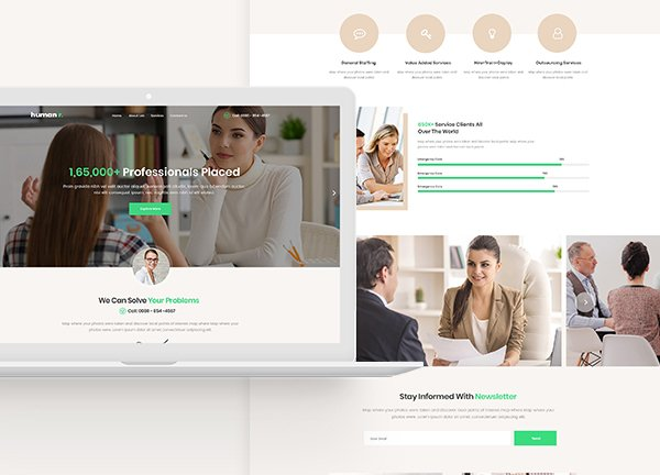 Human Resources Business Website