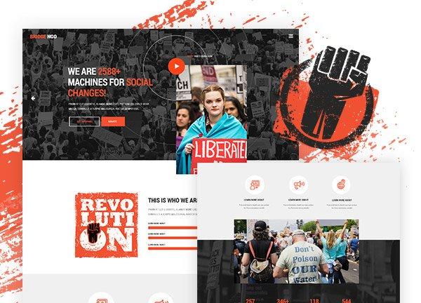 NGO Business Website