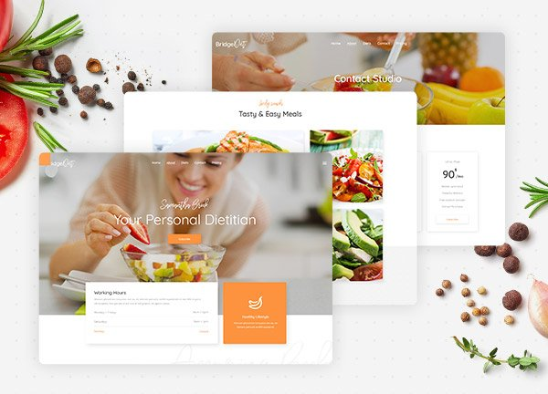Nutritionist Business Website