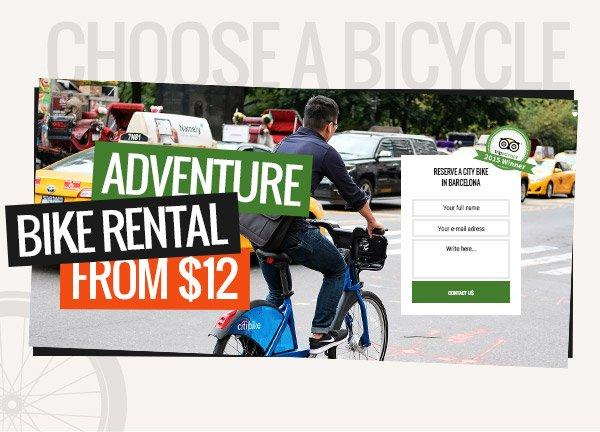 Bike Rental Business Website