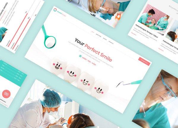 Dental Clinic Business Website