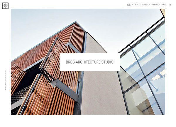 Architectural Firm Portfolio Website