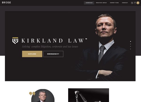 Law Office Business Website