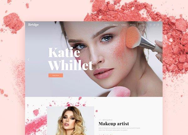 Makeup Artist Business Website