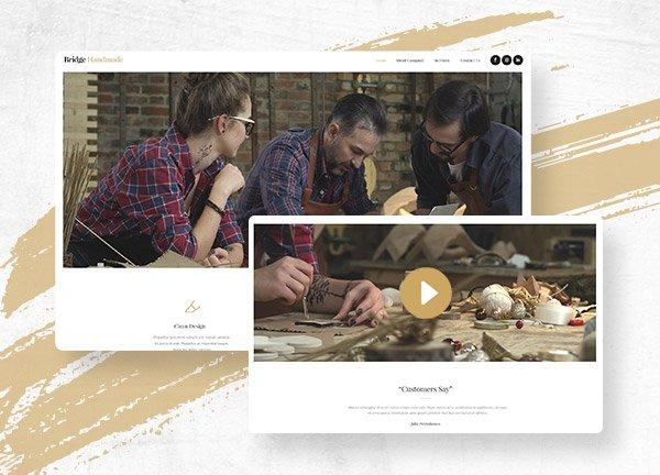 Handicraft Business Website