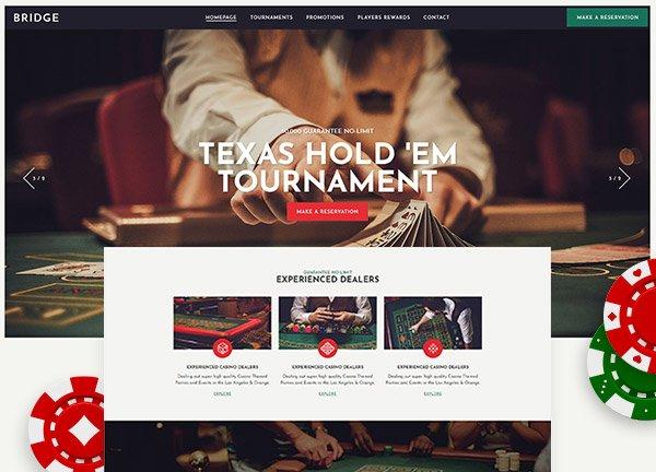 Casino Business Website