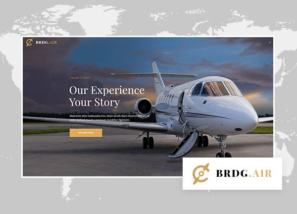 Airline Business Website