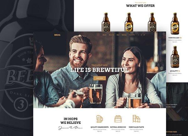 Craft Beer Business Website