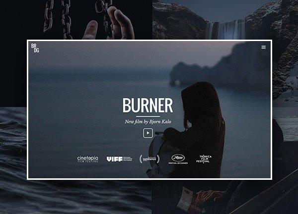 Film Director Portfolio Website