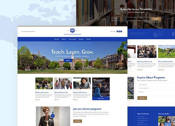 University III Business Website