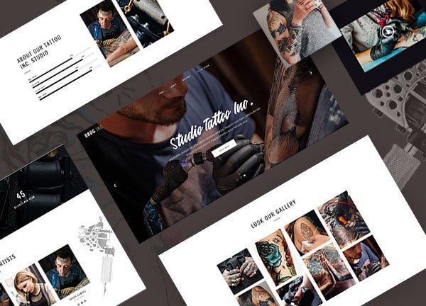 Tattoo Studio Business Website