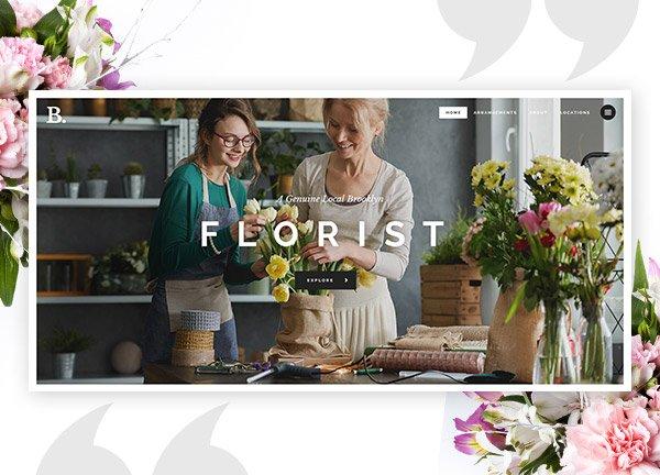 Floristry Business Website