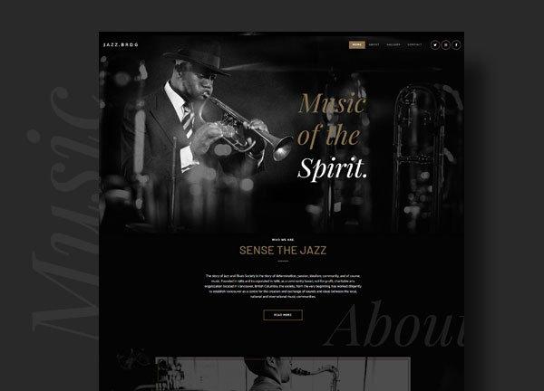 Jazz Club Business Website