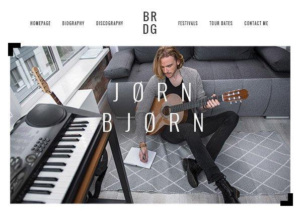 Musician Creative Website